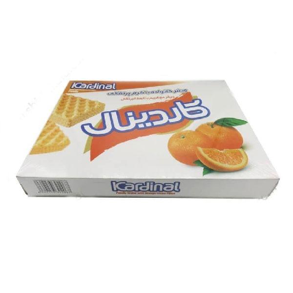 ویفر پذیرایی مجلسی کاردینال با طعم پرتقال
