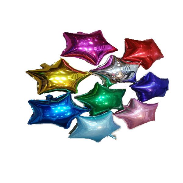 بادکنک فویلی ستاره- عددی