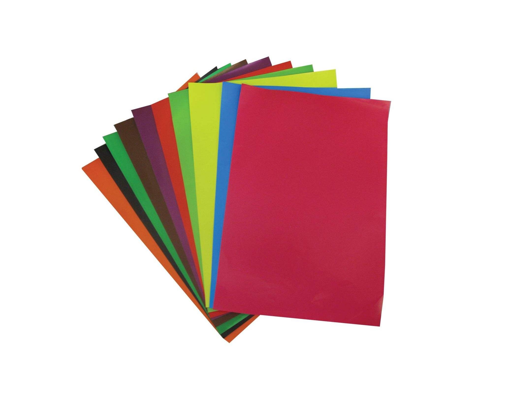 کاغذ رنگی مدل ۷۵۹۸ سایز ۳۵×۲۴ سانتی متر بسته ۱۰ عددی