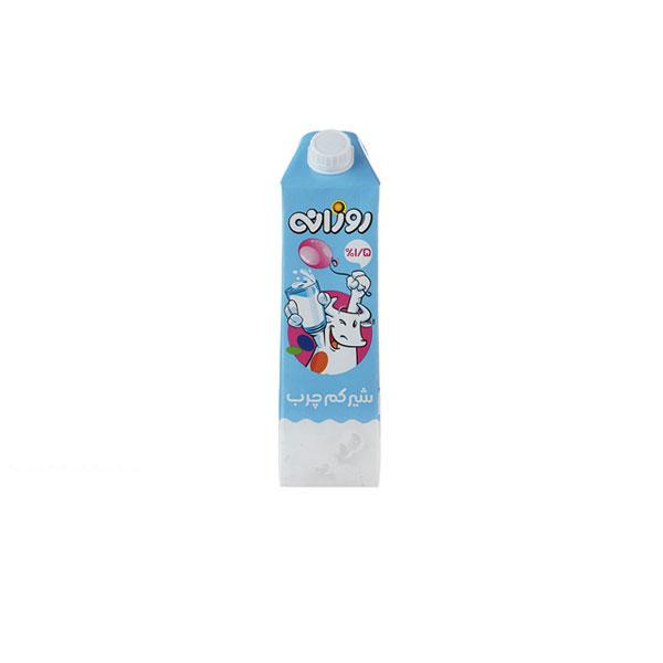 شیر کم چرب روزانه حجم ۱ لیتر