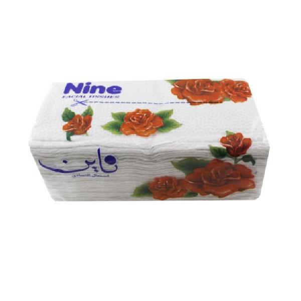 دستمال کاغذی ناین بسته نایلونی