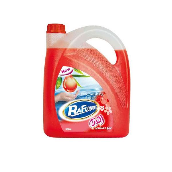 مایع دستشویی لیتری قرمز رافونه