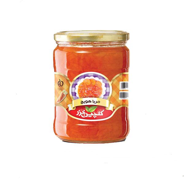 مربا هویج گلچین خزر-شیشه کوچک
